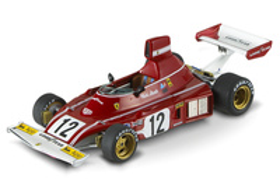 "Ferrari 312 T ""GP. Jarama"" nº 12 Niki Lauda (1974) Hot Wheels N5601 1/43"