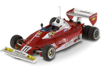 "Ferrari 312 T2 ""Test 6 ruedas"" nº 11 Niki Lauda (1977) Hot Wheels 1/43"