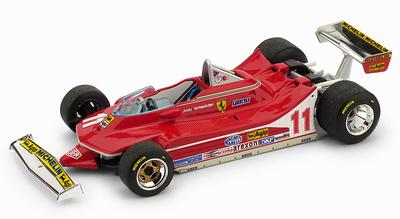 """Ferrari 312 T4 """"1º GP. Italia""""  nº 11 Jody Schekter (1979) Brumm 1:43"""