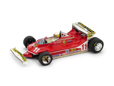 "Ferrari 312 T4 ""GP. Mónaco""  nº 11 Jody Scheckter (1979) Brumm 1:43"