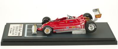 "Ferrari 312 T4 ""GP. Mónaco"" nº 11 Jody Scheckter (1979) Villa Model 1/43"