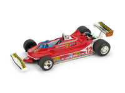 "Ferrari 312 T4 ""GP. Usa Oeste"" nº 12 Gilles Villeneuve (1979) Brumm 1:43"