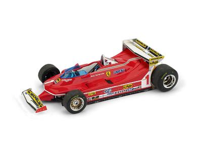 "Ferrari 312 T5 ""GP. Mónaco"" nº 1 Jody Scheckter (1980) Brumm 1:43"