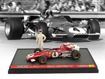 """Ferrari 312B """"1° GP Italia"""" nº 4 Clay Regazzoni (1970) Brumm 1/43"""