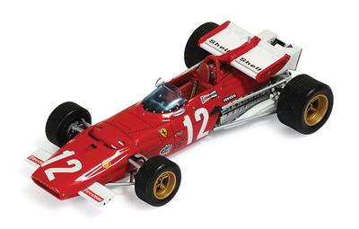 "Ferrari 312B ""GP. Austria"" nº 12 Jacky Ickx (1970) Ixo 1/43"