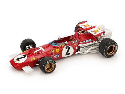 """Ferrari 312B T-Car """"GP. Italia"""" nº 2 Jacky Ickx (1970) Brumm 1:43"""