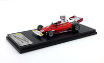 "Ferrari 312T ""GP USA East"" Niki Lauda -Firmado- (1975) Fujimi 1/43"