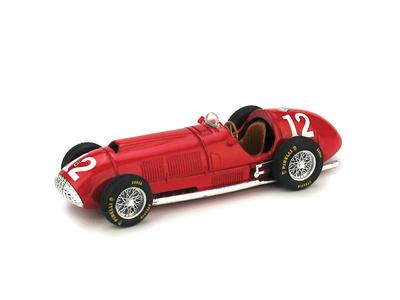 """Ferrari 375 """"1º GP. Gran Bretaña"""" nº 12 Froilán Gonzalez (1951) Brumm 1/43"""