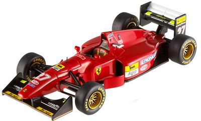 """Ferrari 412 T1 """"GP. Gran Bretaña"""" nº 27 Jean Alessi (1994) Hot Wheels T6284 1/43"""
