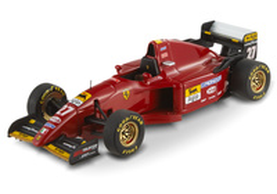 "Ferrari 412 T2 ""GP. Europa"" nº 27 Jean Alesi (1995) Hot Wheels 1/43"
