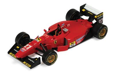 "Ferrari 412T1B ""GP. Bélgica"" nº 27 Jean Alesi (1994) Ixo SF2294 1/43"