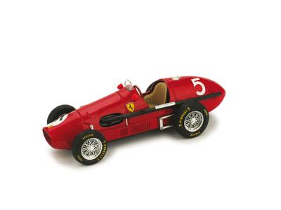 "Ferrari 500 F2 ""1º GP Gran Bretaña"" nº 5 Alberto Ascari (1953) Brumm 1/43"