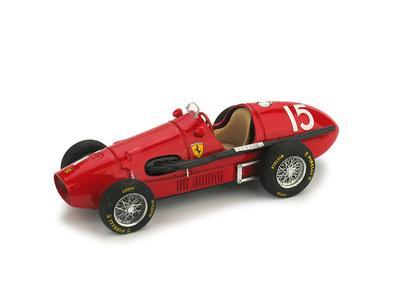 "Ferrari 500 F2 ""1º GP. Gran Bretaña"" nº 15 Alberto Ascari (1952) Brumm 1/43"