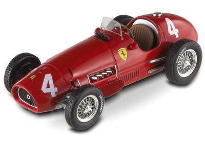 "Ferrari 500 F2 ""GP. Bélgica"" nº 4 Alberto Ascari (1952) Hot Wheels 1/43"
