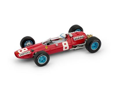 "Ferrari 512 F1 ""GP. Italia"" nº 8 John Surtees (1965) Brumm 1/43"