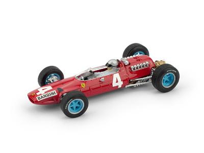"""Ferrari 512 """"GP. Italia"""" nº 4  Lorenzo Bandini (1965) Brumm 1/43"""