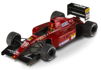 "Ferrari 643 ""GP. Alemania"" nº 28 Jean Alesi (1991) Hot Wheels 1/43"