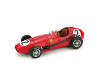 "Ferrari D246 ""2º GP. Gran Bretaña"" nº 2 Mike Hawthorn (1958) Brumm R068 1/43"