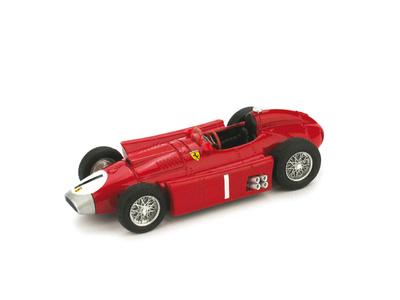 """Ferrari D50 """"1º GP Gran Bretaña"""" nº 1 Juan Manuel Fangio (1956) Brumm 1/43"""