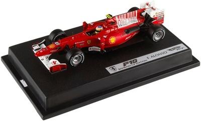 "Ferrari F10 ""1º GP. Barein"" nº 8  Fernando Alonso (2010) Hot Wheels 1/43"