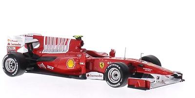Ferrari F10 nº 8 Fernando Alonso (2010) Altaya 1:43