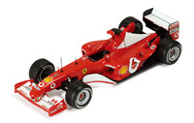"Ferrari F2003 GA ""GP. USA"" nº 1 Michael Schumacher (2003) Ixo 1/43"