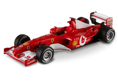 Ferrari F2003 GA nº 1 Michael Schumacher (2003) Hot Wheels Elite 1/43