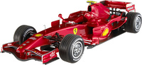 "Ferrari F2007 ""Entrenamientos Barcelona"" Michael Schumacher (2007) Hot Wheels Elite 1/18"