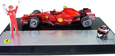 "Ferrari F2007 ""GP. Brasil"" nº 6 Kimi Raikkonen (2007) Hot Wheels 1/18"