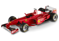 "Ferrari F300 ""GP. Silverstone"" nº 10 Michael Schumacher (1998) Hot Wheels 1/43"