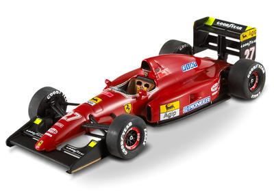 """Ferrari F92A """"GP. España"""" nº 27 Jean Alesi (1992) Hot Wheels T6281 1/43"""