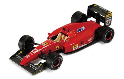 "Ferrari F92A ""GP. Francia"" nº 27 Jean Alesi (1992) Ixo 1/43"