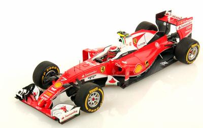"""Ferrari SF16-H """"GP. Bahrein"""" nº 7 Kimi Räikkönen (2016) Look Smart 1/43"""