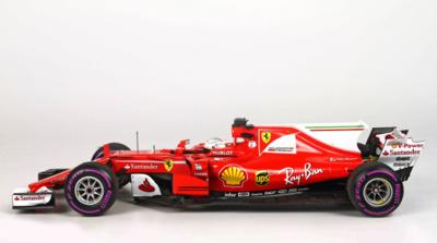 Ferrari SF70-H nº 5 Sebastian Vettel (2017) BBR 1/18
