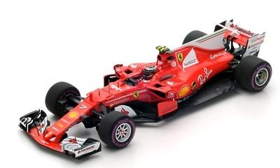 """Ferrari SF70H """"4º GP Australia"""" nº 7 Kimi Raïkonnen (2017) Look Smart 1/43"""