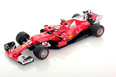 "Ferrari SF70H ""GP. Mónaco"" nº 5 Sebastian  Vettel (2017) Look Smart 1/43"