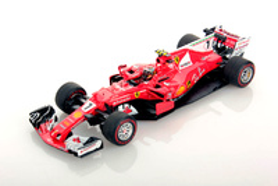 "Ferrari SF70H ""GP. Mónaco"" nº 7 Kimi Räikkönen (2017) Look Smart 1/43"