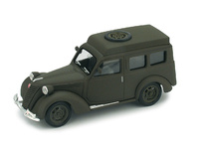 "Fiat 1100 Furgón ""Carabinieri Radio"" (1950) Brumm 1/43"