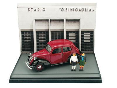 "Fiat 1100 ""Nouva Balilla"" (1937) Brumm 1/43"