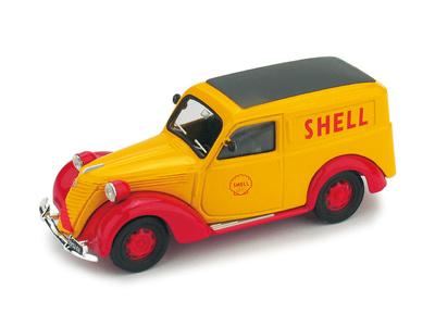 """Fiat 1100E Furgoneta Shell """"Scuderia Ferrari"""" GP. Monza (1958) Brumm 1/43"""