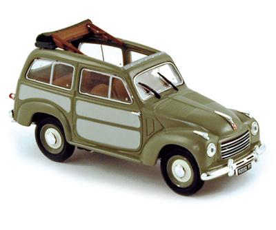 Fiat 500 Belvédère (1952) Norev 1/43