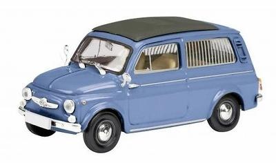 Fiat 500 Combi - Giardiniera (1960) Schuco 1/87
