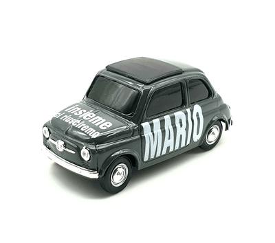 Fiat 500 MARIO 'Insieme ci riusciremo' Edición Especial Brumm 1/43