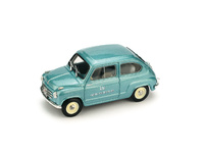 "Fiat 600 ""RAI Radiotelevisione Italiana"" (1960) Brumm 1/43"