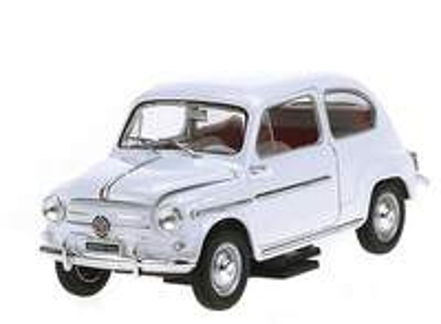 Fiat 600D (1960) Atlas 1/24