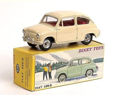 Fiat 600D (1962) Dinky Toys 1/43