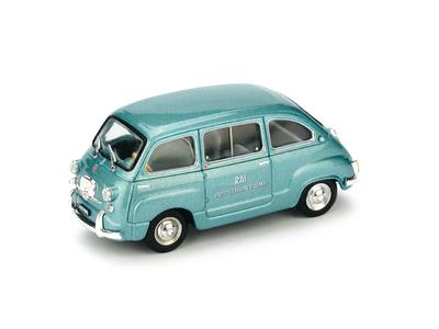 """Fiat 600D Multipla """"RAI Radiotelevisione Italiana"""" (1960) Brumm 1/43"""