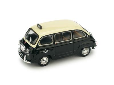 """Fiat 600D Multipla """"Taxi de Genova"""" (1960) Brumm 1/43"""