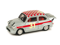 "Fiat Abarth 1000 Berlina ""Carrera Oficial Abarth"" nº 31 L. Cella (1966) Brumm 1/43"