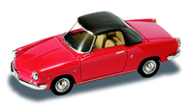 "Fiat Abarth 850 Cabriolet cerrado (1959) ""Luxb"" Starline 1/43"